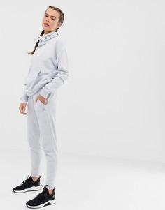 Белые свободные спортивные штаны Reebok-Белый