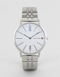 Серебристые наручные часы Tommy Hilfiger Cooper - 41 мм-Серебряный