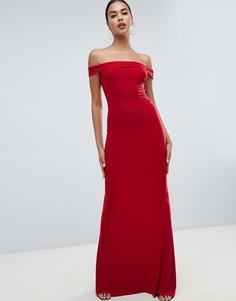 Платье макси Club L-Красный