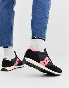 Черные кроссовки Saucony Jazz Original-Черный
