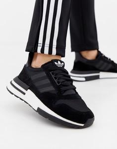 Черные кроссовки adidas Originals Zx 500 Rm-Черный