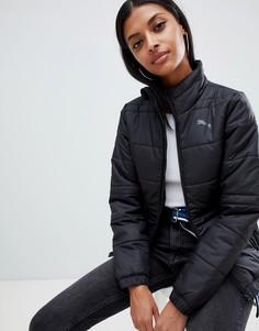 Черная дутая куртка Puma Essentials-Черный