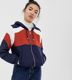Куртка на молнии с флисовой подкладкой New Look-Оранжевый