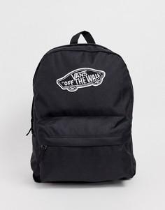 Черный рюкзак Vans Realm