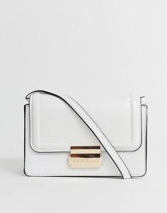 Белая маленькая сумка с прямоугольным дизайном River Island-Белый