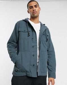 Темная куртка Vans-Синий