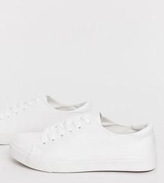Классические белые кроссовки New Look-Белый