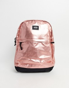 Розово-золотистый рюкзак Vans Pep Squad-Розовый