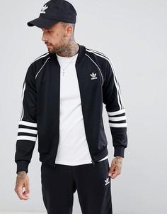 Черная спортивная куртка adidas Originals Authentic Superstar DJ2856-Черный