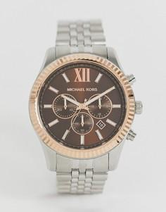 Наручные часы Michael Kors MK8732 Lexington, 44 мм-Серебряный