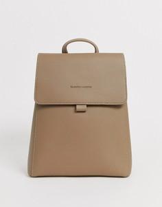 Серо-коричневый рюкзак Claudia Canova-Бежевый