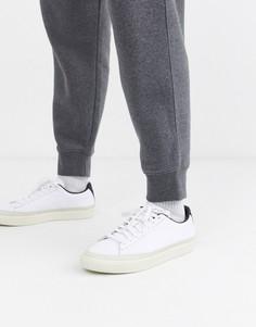 Кроссовки с отделкой Puma basket-Белый