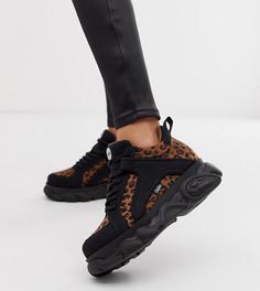 Эксклюзивные массивные кроссовки с леопардовым принтом Buffalo - Colby-Мульти