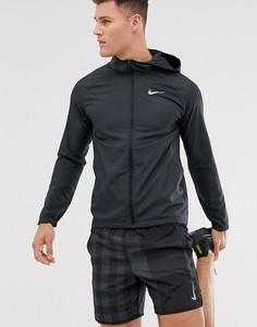 Черная куртка Nike Running - Essentials-Черный