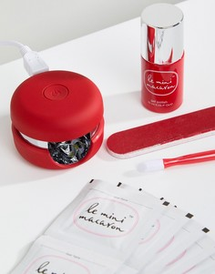 Набор для гелевого маникюра Le Mini Macaron - Cherry Red-Красный