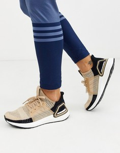 Бежевые кроссовки adidas Training Ultraboost 19-Бежевый