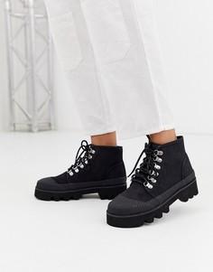 Черные походные ботинки ASOS DESIGN Astound-Черный