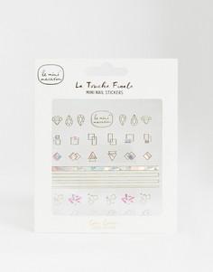 Стикеры для ногтей Le Mini Macaron La Touche Finale - Geo Gems-Бесцветный
