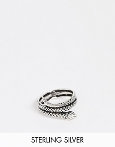 Серебряное кольцо со змеей Kingsley Ryan-Серебряный