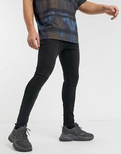 Черные джинсы скинни Criminal Damage-Черный