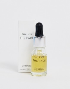 Капли для блестящего автозагара Tan Luxe The Face - Светлый/средний 10 мл-Бесцветный