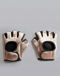 Перчатки для силовых тренировок South Beach-Золотой