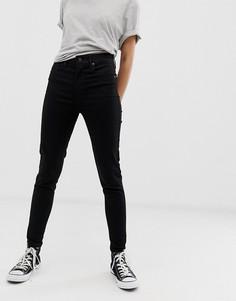 Супероблегающие джинсы Levis mile high-Черный