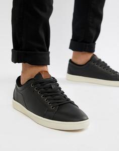 Черные кроссовки в стиле ретро Aldo Sigrun-Черный