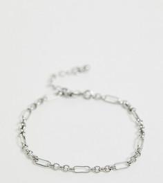 Серебристый браслет-цепочка DesignB эксклюзивно для ASOS-Серебряный