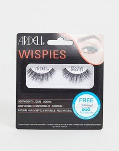 Двухслойные накладные ресницы Ardell Wispies-Черный
