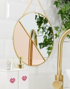 Подвесное зеркало Candlelight-Золотой
