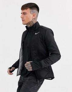 Черная куртка Nike Running Aerolayer-Черный