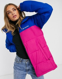 Розово-синяя куртка Columbia Pike Lake эксклюзивно на ASOS-Фиолетовый