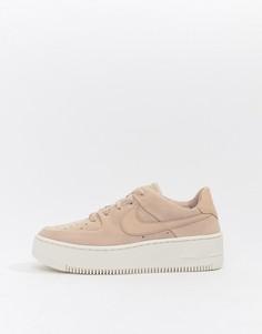 Розовые кроссовки Nike Air Force 1 Sage-Розовый