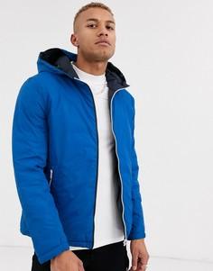 Синяя двусторонняя дутая куртка Celio-Синий