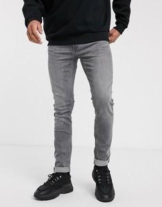 Серые джинсы скинни Topman-Серый