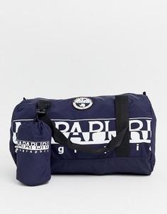 Синяя сумка дафл вместимостью 26,5 л Napapijri Bering-Синий