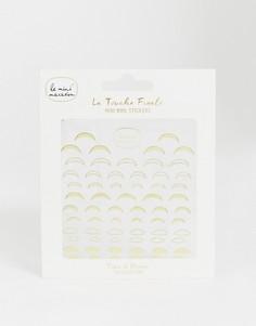 Стикеры для ногтей Le Mini Macaron La Touche Finale - Tips & Moons-Бесцветный