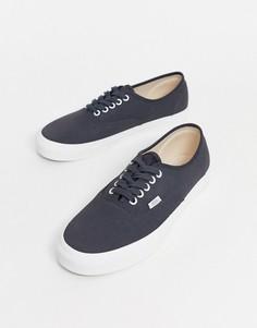 Белые туфли Vans Authentic-Серый
