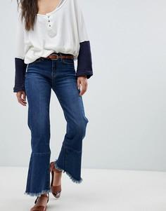 Укороченные джинсы с необработанными краями M.i.h Jeans Lou-Черный