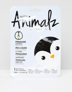 Маска-салфетка Pretty Animalz Penguin-Бесцветный Masque Bar