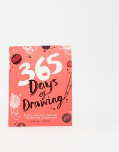 "Книга ""365 Days of Drawing\""-Мульти Books"
