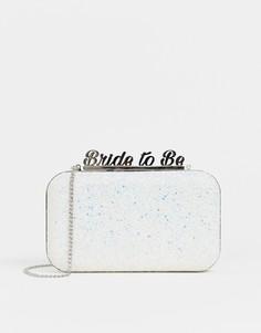 Клатч с блестками ALDO bride to be-Белый