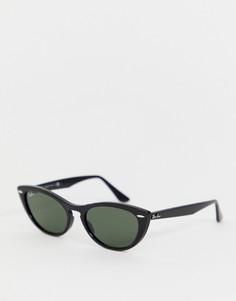 """Солнцезащитные очки \""""кошачий глаз\"""" Ray-Ban 0RB4314N-Черный"""