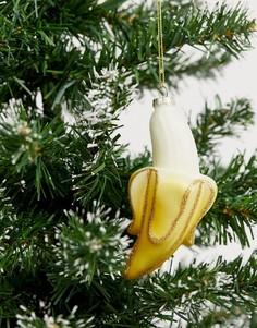 """Новогоднее украшение с дизайном \""""банан\"""" Sass & Belle-Мульти"""