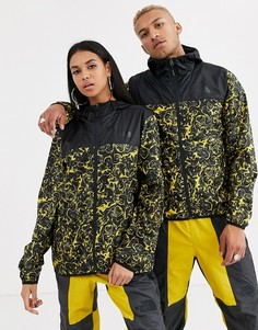 "Куртка с леопардовым принтом \""rage\"" желтого цвета The North Face 94 Rage Novelty Cyclone-Желтый"