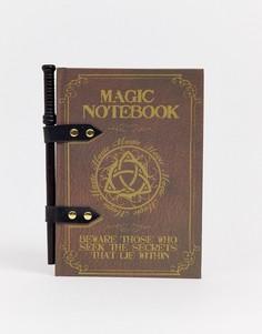 """Набор из блокнота и ручки с дизайном \""""волшебная палочка\"""" Menkind-Мульти"""