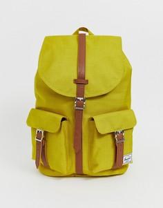 Рюкзак цвета охры вместимостью 20,5 л Herschel Supply Co Dawson-Желтый