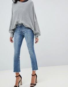 Укороченные расклешенные джинсы DL1961 - Lara instasculpt-Синий
