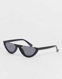 """Узкие солнцезащитные очки \""""кошачий глаз\"""" с плоским верхом ALDO-Черный"""